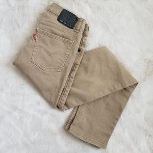 Levi's Khaki Jeans 510 fit 20 Regular